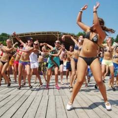 Фестиваль Ruedas de Casino «Salsa on the Beach – 2008» Одесса, Украина