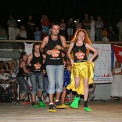 Видео: выступление команды «Havana Gila» на фестивале «Salsa on the beach – 2008» Одесса