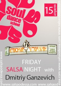 Salsa Friday with Dmitriy Ganzevich