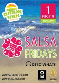 Salsa Friday in Plagenick