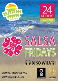 Salsa Friday in ПляжНИК