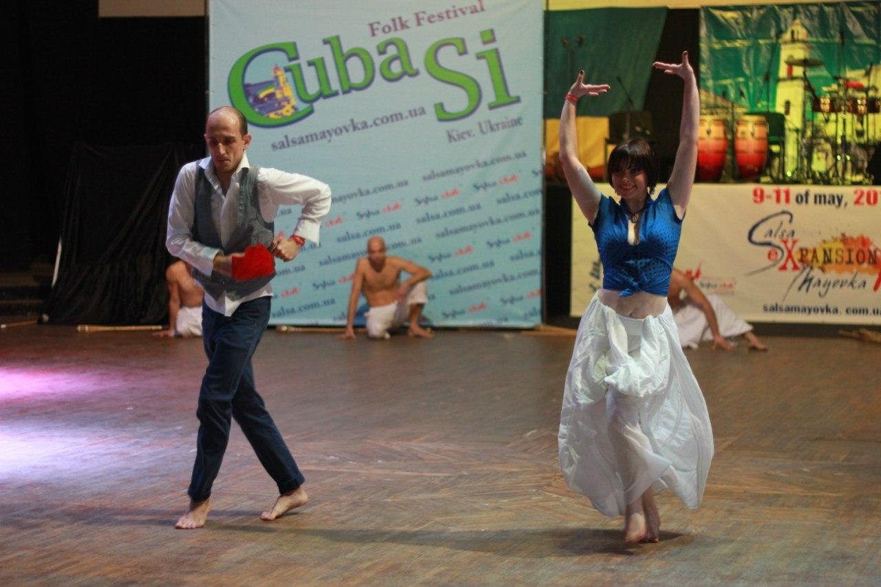 Rumba Guaguanco by Victoria Bandida & Ruslan Motolko @ CubaSi Festival