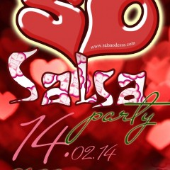 Happy Valentine`s SALSA party! :)