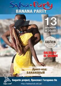BANANA SALSA PARTY