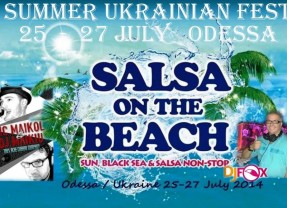 25-27 июля Salsa on the Beach Festival!