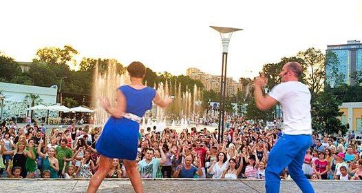 17 августа SALSA OPEN-AIR в Аркадия Сити!