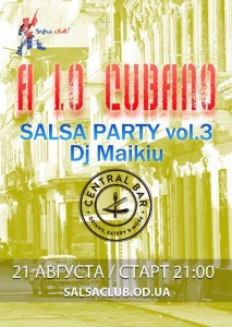 SALSA PARTY @ Central Bar