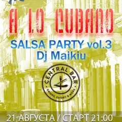 SALSA PARTY | 21.08 | Central Bar