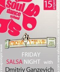 Salsa Friday with Dmitriy Ganzevich