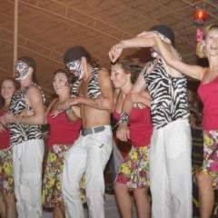 Видео: Руэда школы Алекса Хазина на фестивале Salsa on the beach 2009