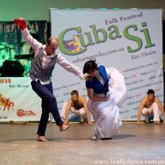 Видео: Rumba Guaguanco workshop by Victoria Bandida & Ruslan Motolko