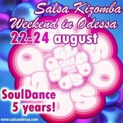 Salsa Kizomba Weekend in Odessa!