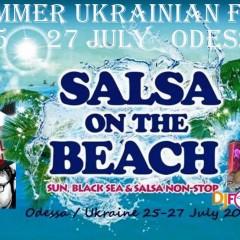 25-27 июля Salsa on the Beach Festival!