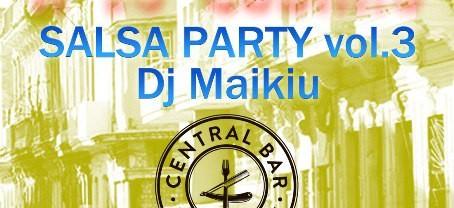 SALSA PARTY | 21.08 | Central Bar